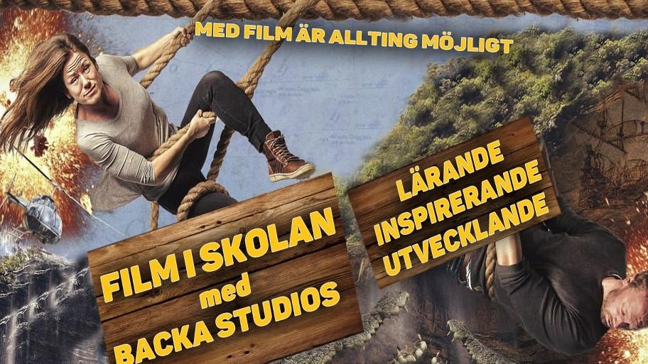 Film i skolan med Backa Studios. Lärande, inspirerande, utvecklande. Med film är allt möjligt.